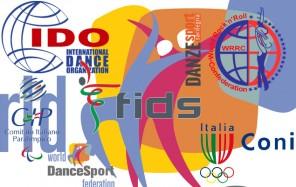 LOGHI danza sportiva in italia e nel mondo