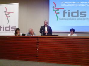 Cagliari, 6 ottobre 2013 - Presentazione corsi per Danza Sportiva Paralimpica