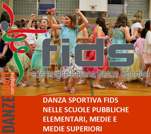 danza sportiva FIDS nelle scuole pubbliche