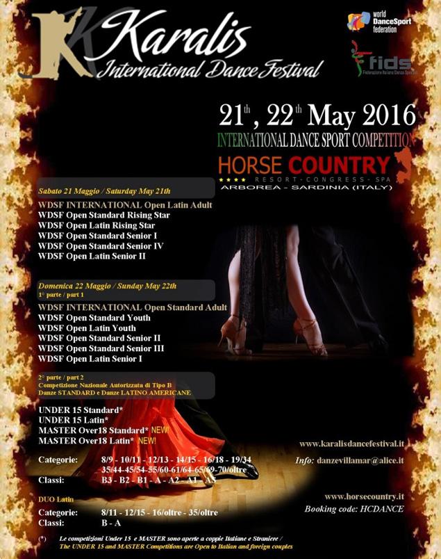 4° trofeo karalis cagliari international dance festival studio danze villamar