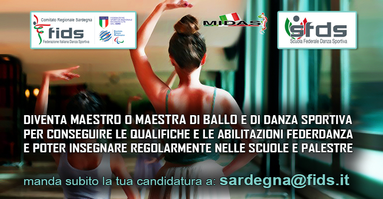 Federdanza Calendario.Comitato Regionale Sardegna